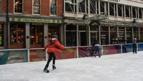Ice skating rinks in New York City, South Street Seaport