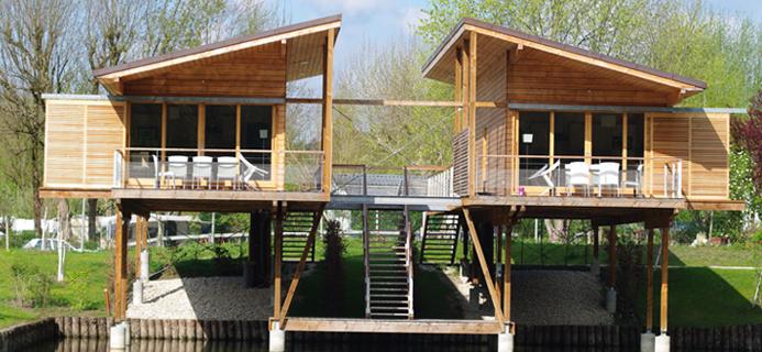Chalet Bois Kit Habitable LHabis