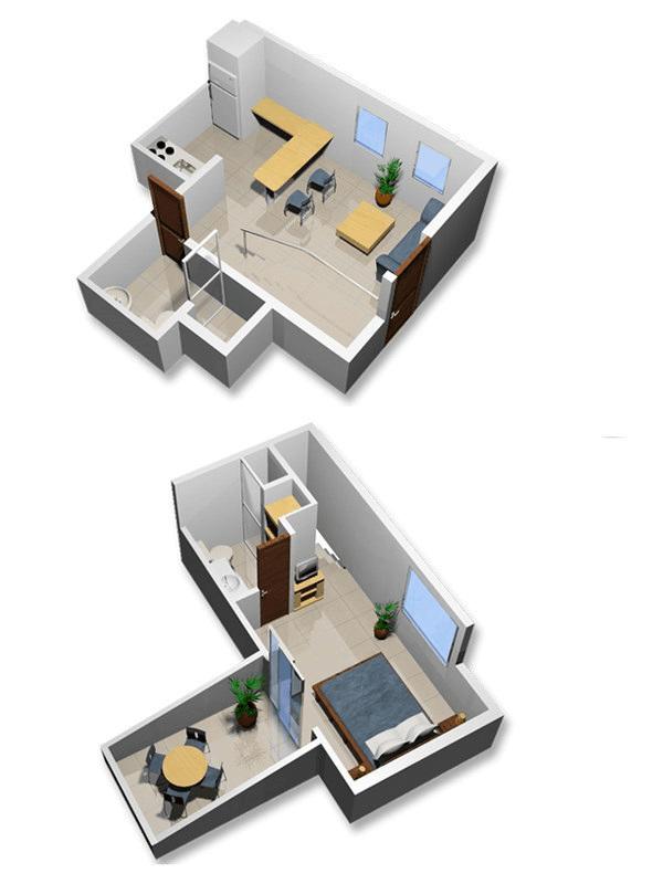 Habita Suites  Apartamento amoblado en Cali  Apartamento 103