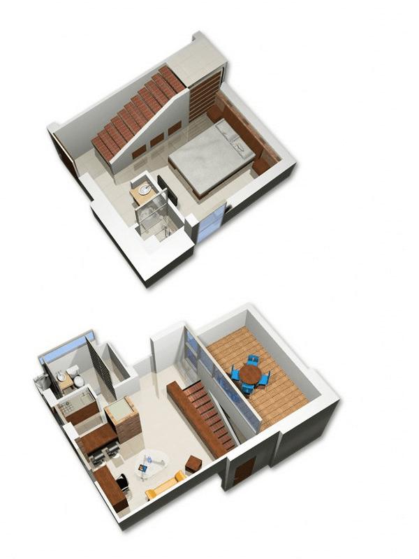 Habita Suites  Apartamento amoblado en Cali  Apartamento 108