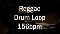Reggae Drum Loop 156bpm