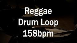 Reggae Drum Loop 158bpm