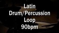 Latin Drum/Percussion Loop 90bpm