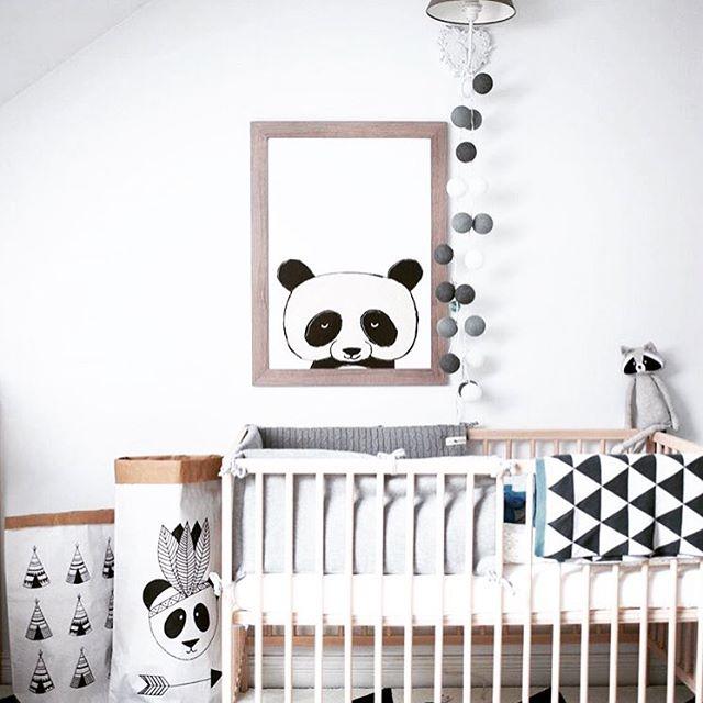 Decoracin Panda para bebs y nios  Habitaciones Tematicas