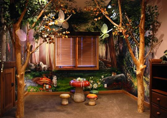 Inspiracin Hadas del Bosque  Habitaciones Tematicas
