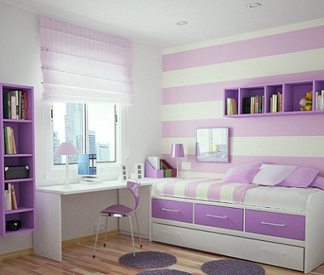 Habitaciones juveniles para chica  Habitacin Infantil