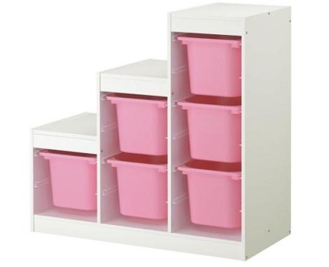 Muebles de Ikea para el almacenaje