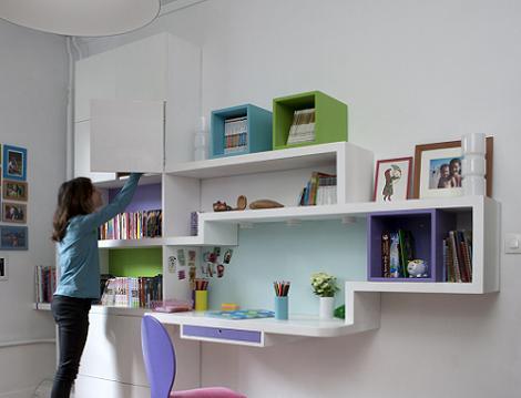 Zona de estudio juvenil  Habitacin Infantil