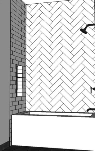 eight popular subway tile designs