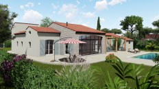 Extension d'une villa année 1960 sur Sainte-Maxime
