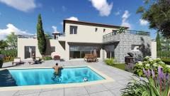 Maison moderne avec piscine sur Puget sur Argens