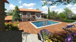 Rénovation d'une villa dans un domaine de Fréjus