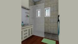 Salle de bain rénovée sur Roquebrune sur Argens