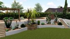 Conception Jardin Mexicain