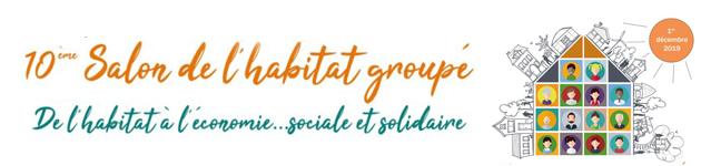 10ème édition du Salon de l'habitat groupé !! Dimanche 1er DECEMBRE 2019 à Namur