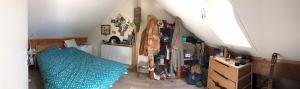 Une chambre se libère à la Maison Bleue à Ottignies :)