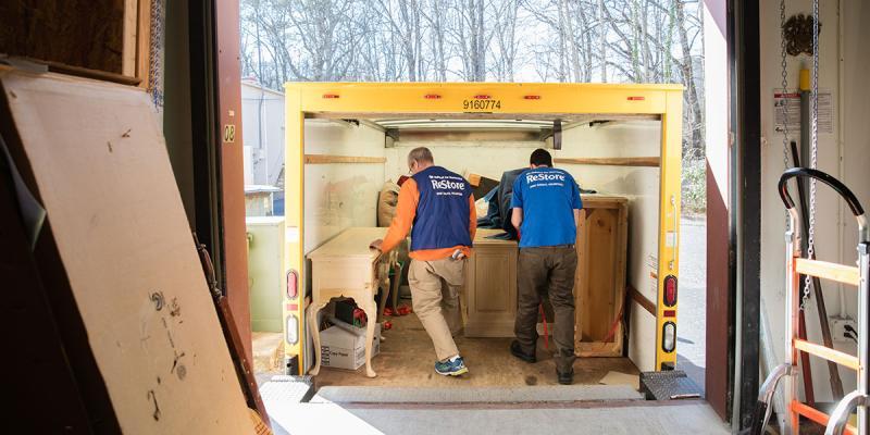 Does Habitat ReStore offer furniture donation pickup  Habitat for Humanity