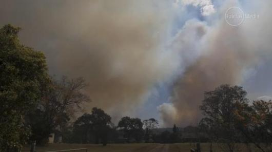 Hawkesbury Heights HR turned Wildfire