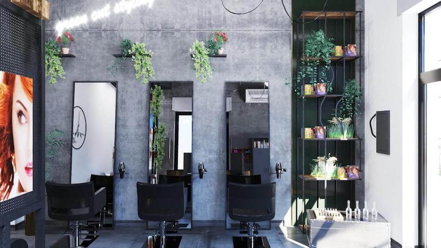 Tinteggiare le pareti con colori chiari e il soffitto con colori più. Colori Pareti Per Salone Parrucchiere Come Sceglierli Habitat Design