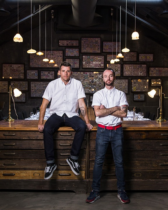 Shortmarket Club - Chef Wesley Randles & Manager Simon Widdison (HR) 4