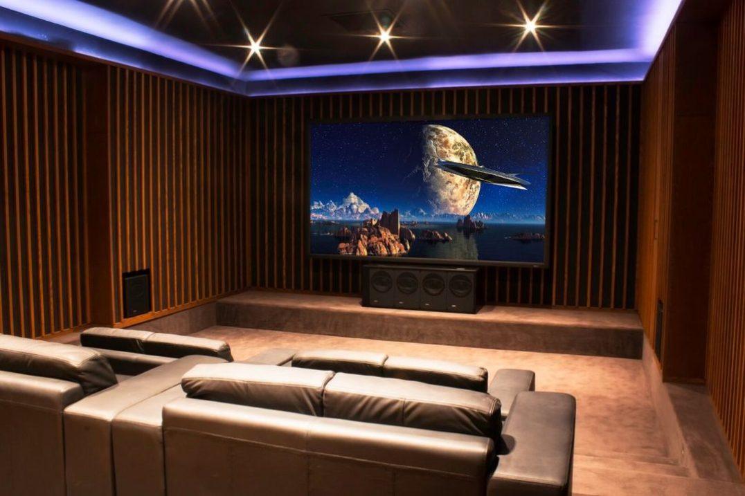 Cinema Friedlein was nominated for Best Home Cinema £40 000 - £100 000