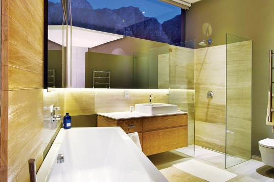 Glass is also an important component in capitalising on spectacular views.