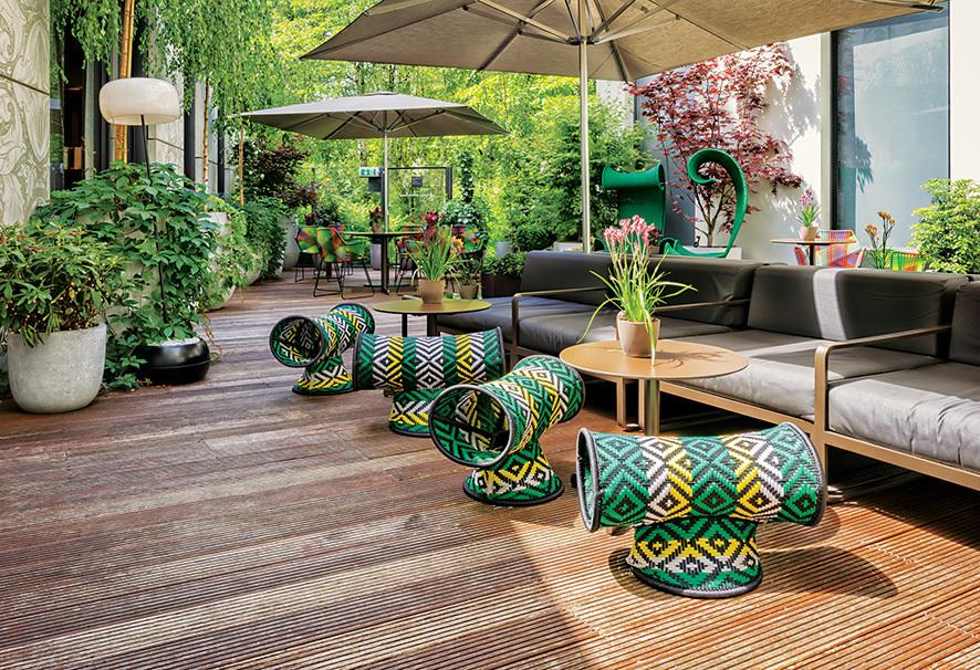 das stue terrace