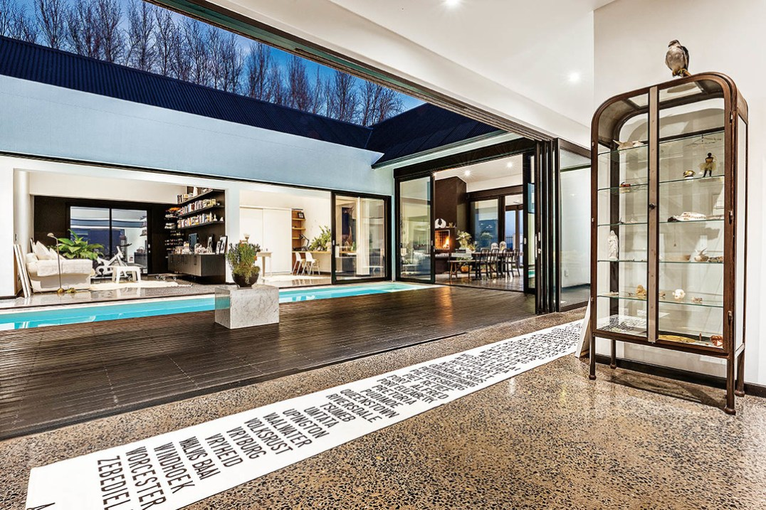 The courtyard format works to perfection here while evoking the Cape Dutch ethos to some extent. It succeeds in delivering a private and secure indoor / outdoor lifestyle.