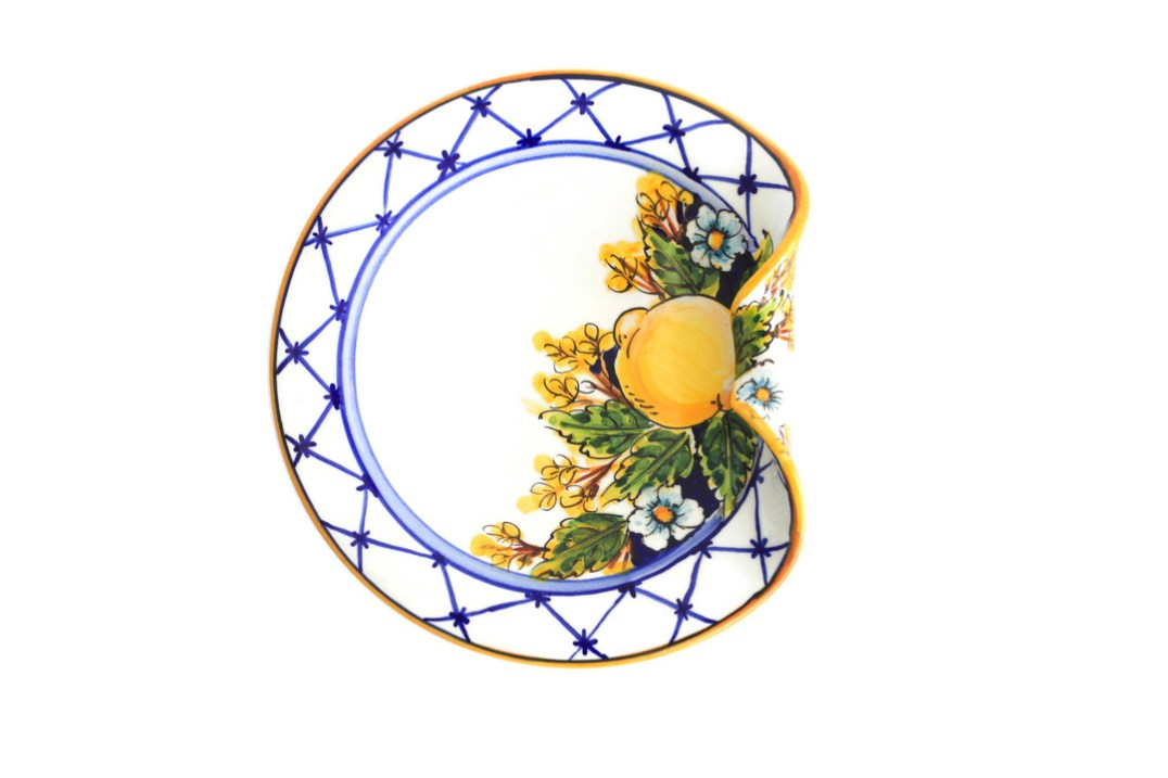 CR002 Limoncello Art Collection Aperitivo Plate.