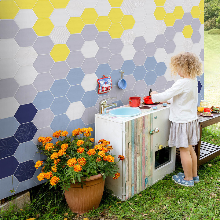 WOMAG Colourful Hexagons - Lifestyle - HR