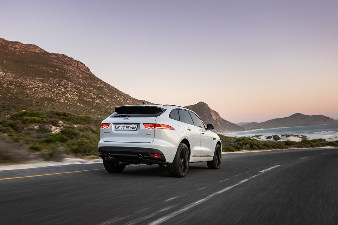 21. F-PACE CF action