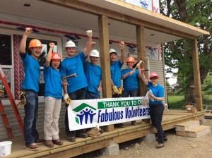 Freedom 55 Financial Team Helps Build Community