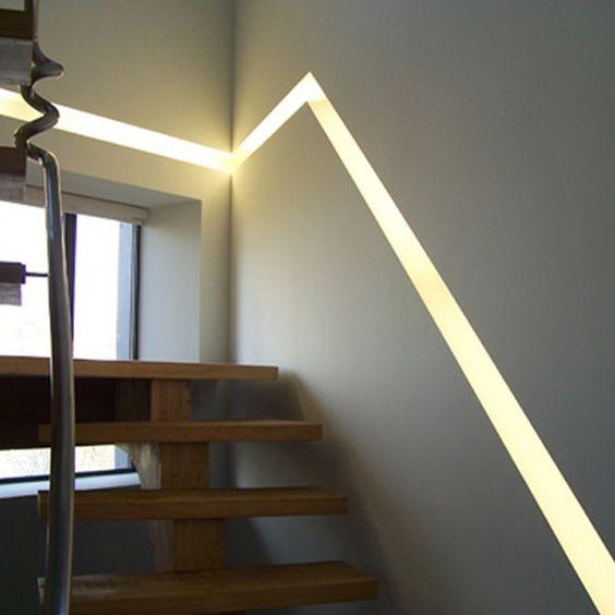 Clairer Un Escalier Avec Des LED 5 Ides Faciles Et