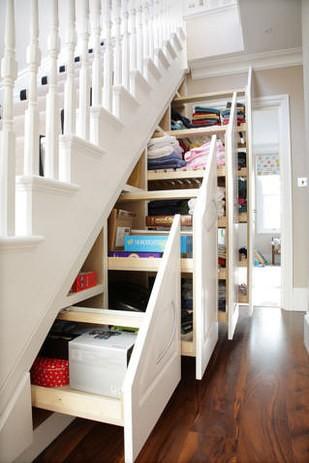 Ides Pour Amnager Des Rangements Sous Escalier