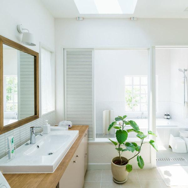 salle de bains sans casser le carrelage