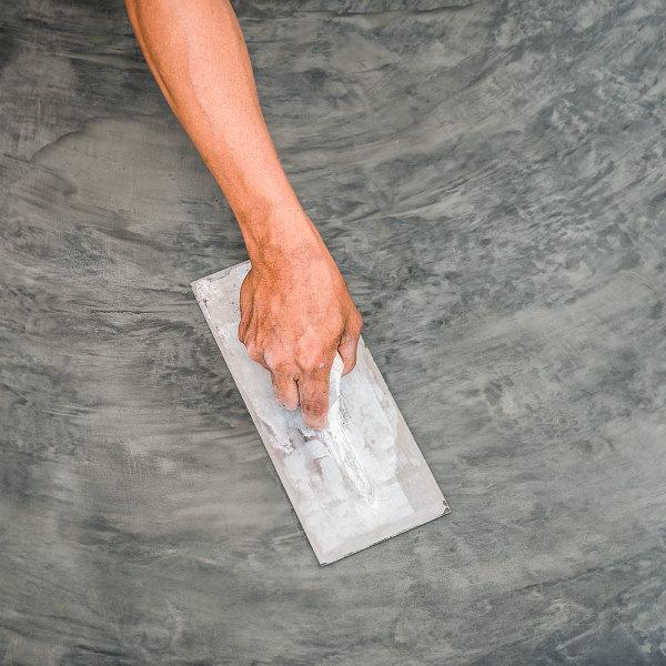 beton cire sur carrelage comment