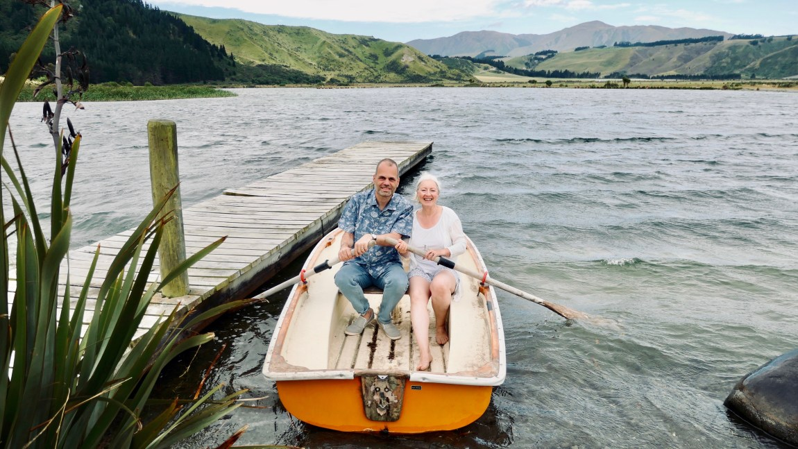 Alexandra & Gunnar in New Zealand