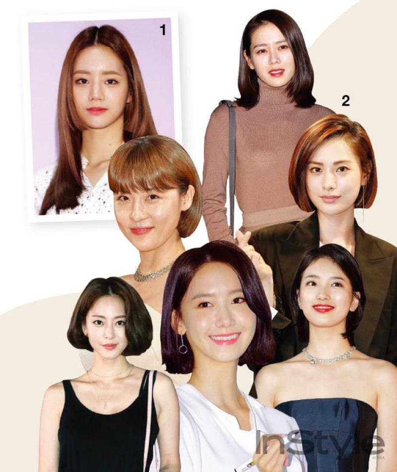 2017 Korean Celebrities Hair Trend Hab Korea