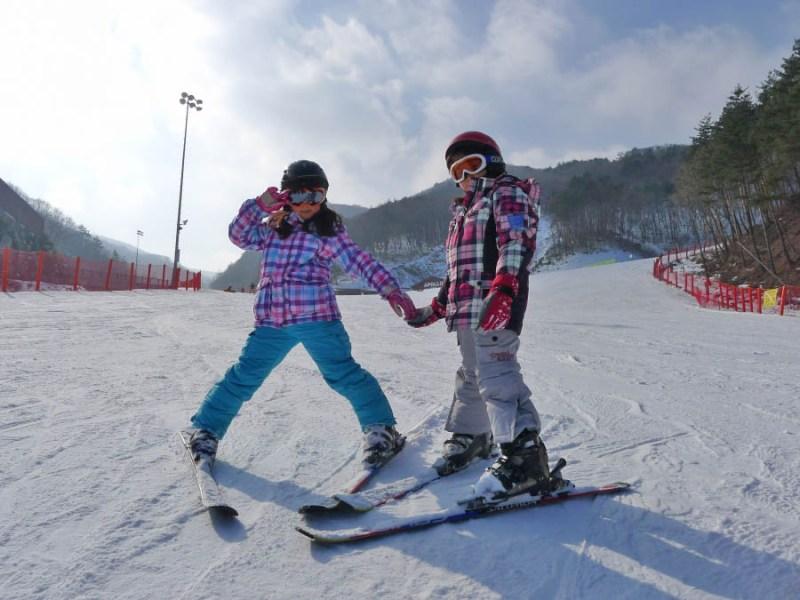 [Korea Ski Tours] How to skiing for beginners