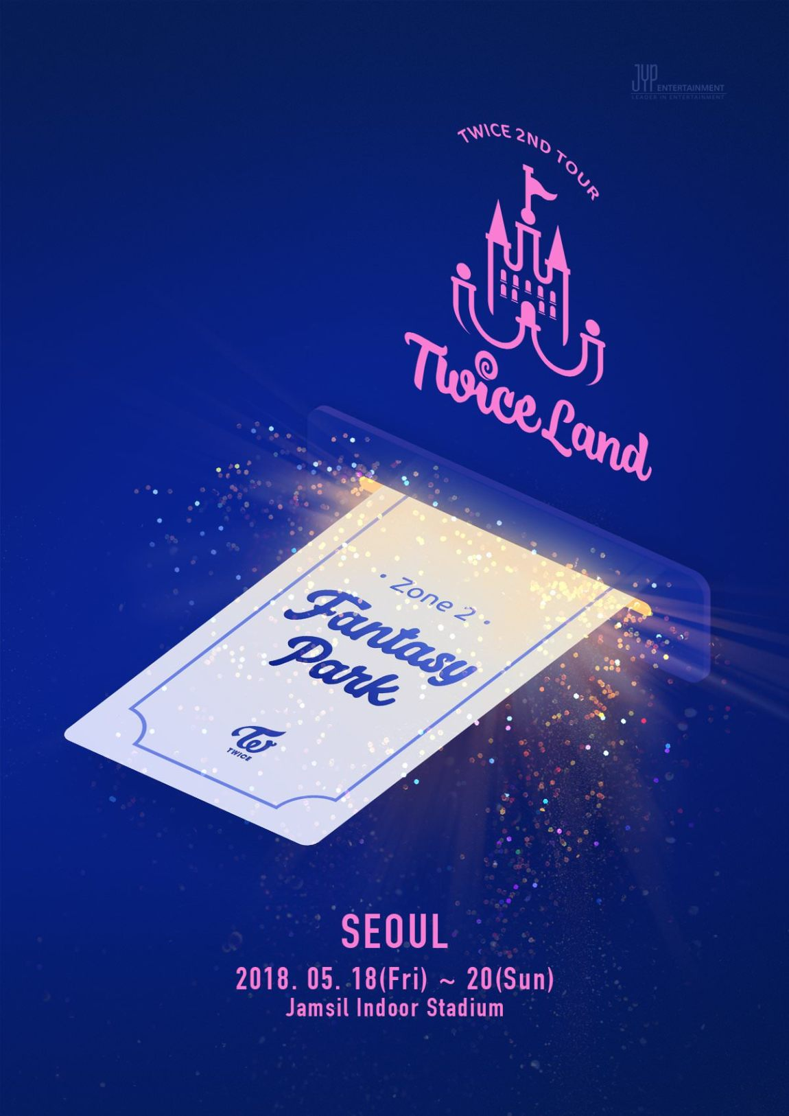 TWICE opens Seoul concert ticket today