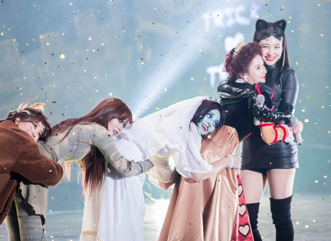 Twice's Halloween fan event photos
