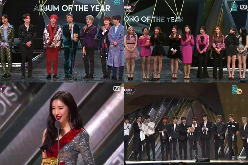 Check out the Winners Of 2018 MAMA In Hong Kong