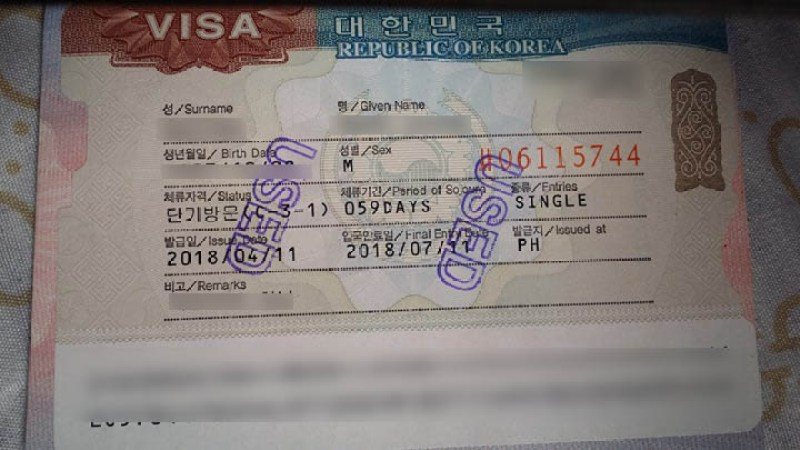 NEW South Korea Visa Application in the Philippines 2019