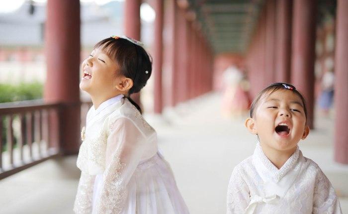 Korean-American family Hanbok Photoshoot