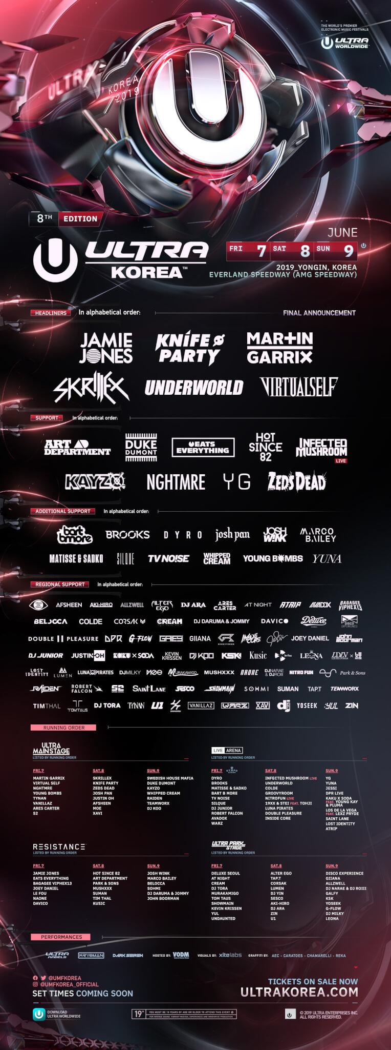 ULTRA Korea, Asia's largest EDM festival to kick off June 7