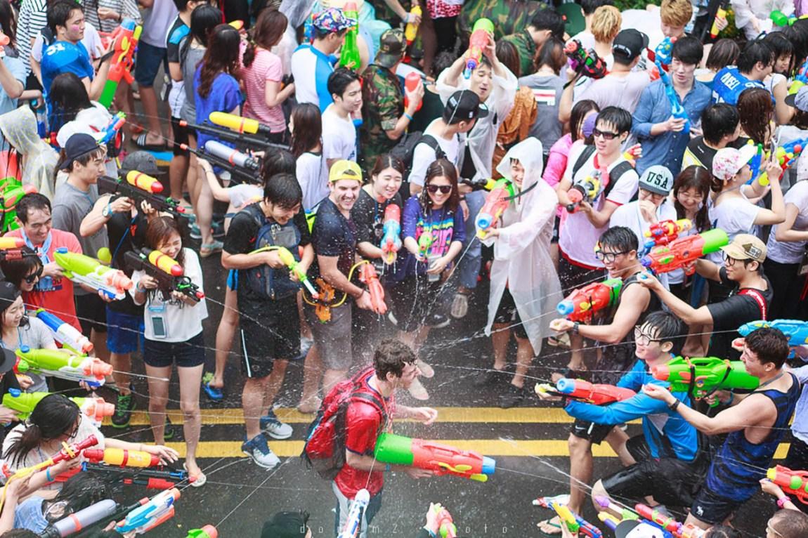 Water gun festival to be held in Sinchon this weekend