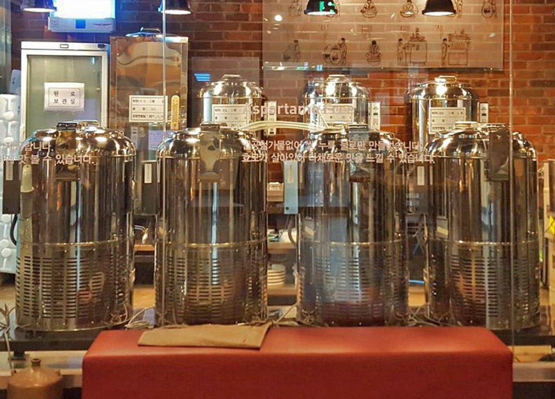 #All-you-can-drink Makgeolli#Best Makgeolli Brewery In Seoul! (Slow Village Rice Wine Brewery And Pub)