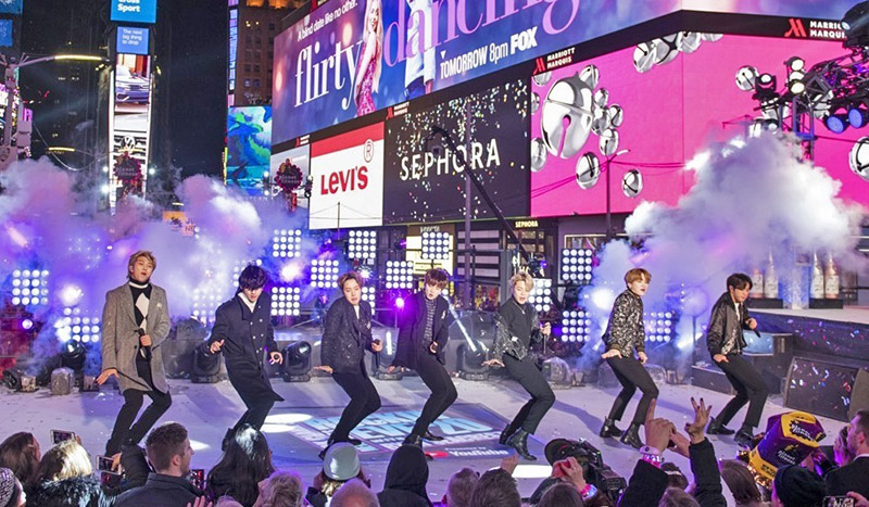 BTS Times Square