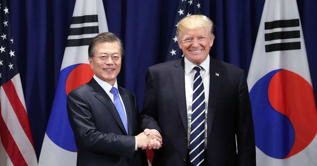 South Korea and United States of America