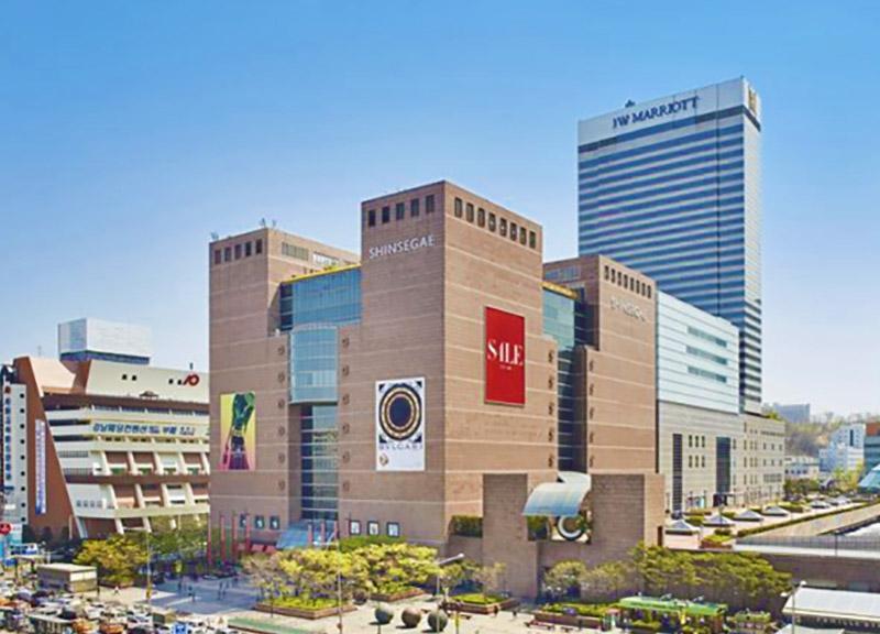 department store in Korea
